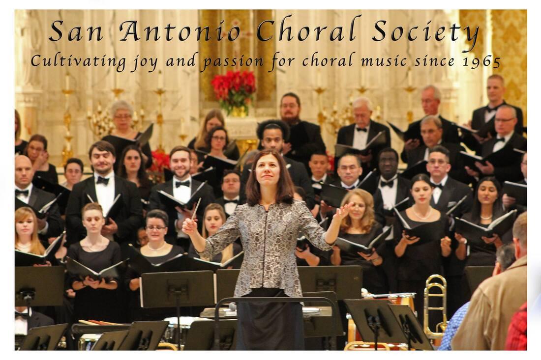 SAN ANTONIO CHORAL SOCIETY - The San Antonio Choral Society